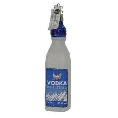 Bottle of Vodka Christmas Ornament I