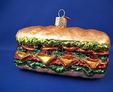 boule de noel sandwich