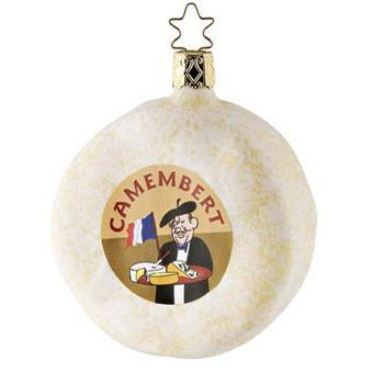 French Camembert Cheese Inge-Glas of Germany