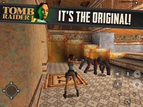 Tomb Raider I disponible sur l'App Store