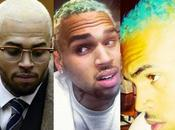 pires coupes cheveux Chris Brown