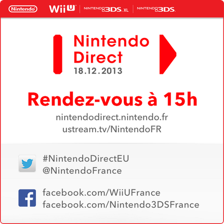 Un Nintendo Direct dès demain à 15h