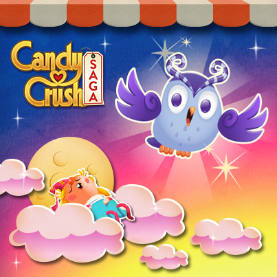 Dreamworld – La première extension de Candy Crush Saga !‏