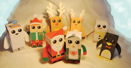 Blog_Paper_Toy_christmas_papertoys_Samantha_Eynon