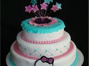 Gâteau étages Monster High
