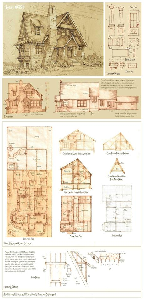 house 323 full plan by built4ever d4w90yx Dis monsieur, dessines moi une maison