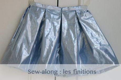 sew along jupe plis creux finition Sew along de la jupe à plis creux   jour 5 : les finitions