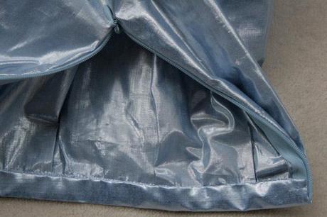 sew along jupe plis creux finition ceinture 9 Sew along de la jupe à plis creux   jour 5 : les finitions