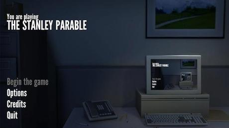 The Stanley Parable start screen The Stanley Parable : LE jeu barré à ne pas rater...