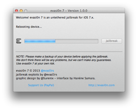 le jailbreak officiel ios 7 iphone 5s iphone 4s