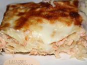 Lasagnes deux saumon