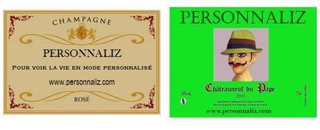 Etiquettes personnalisées