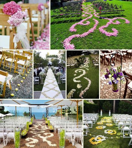 flower-aisle-wedding-photos