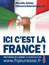 ICI LA FRANCE:Affiche Ici France