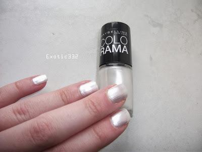 Vernis à Ongles Colorama Gemey Maybelline - 19 Marshmallow