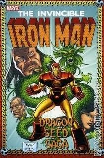 IRON MAN : THE DRAGON SEED SAGA (AVEC LE MANDARIN)