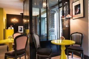 Visite Déco : les Plumes Hôtel à Paris