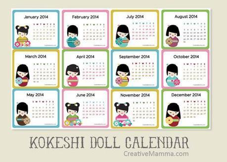 Sélection de calendrier 2014 {Printable}