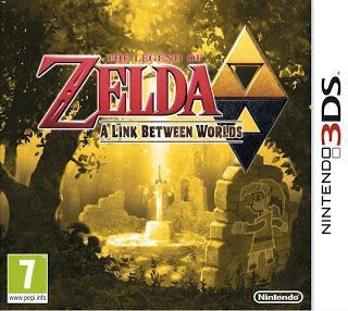 Mon jeu du moment: The Legend of Zelda A Link between Worlds