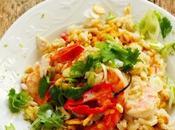 Qu'est-ce nous fait choisir menus fêtes savoir risotto exotique crevettes épicées peut-être finir table moi…