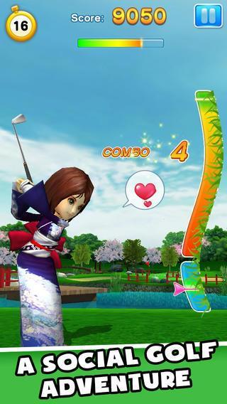 Gameloft et LINE Corporation annoncent LINE Let's Golf sur iPhone...
