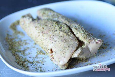 foie gras cru pistache