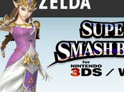 SSB. WiiU Zelda rejoint casting