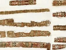 soie persane dans sépultures vikings