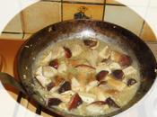 Caille foie gras, poelee cepes vosges pommes duchesse