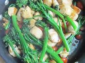 recette d'un savoureux Sauté poulet Tasty Stir-Fry Recipe}