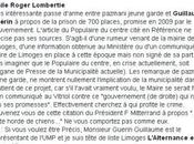 Limoges l'opposition prise flagrant délit mensonge
