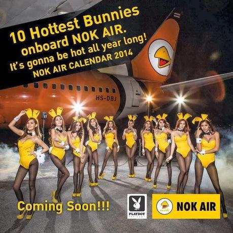 Nok Air Presents PlayBoy Calendar 2014