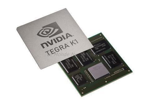 CES 2014 : Nvidia présente le nouveau processeur Tegra 5, pardon Tegra K1 pour les terminaux mobiles