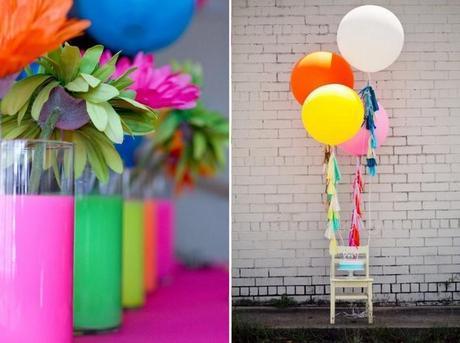 Tendance 2014 – Neon Party ou Mariage Fluo ?