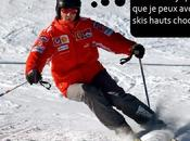 Schumacher quand très trottent skis