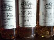 Rabaud-Promis, Verticale, millésimes 1983 2000.