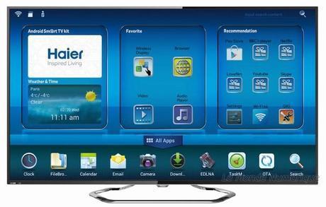CES 2014 : Haier lance sa gamme de TV sous Android, la série M7000
