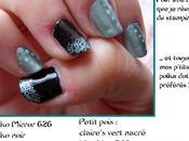 Nail Test Kiko Mirror Vert Stamping.