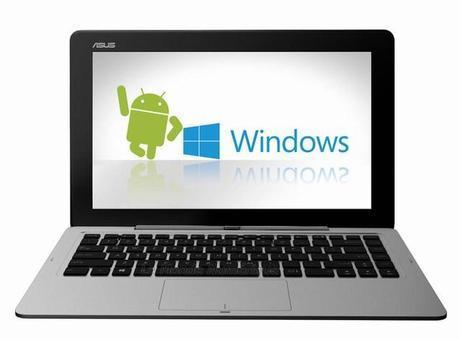 CES 2014 : Asus Transformer Book Duet TD300 sous Android et Windows