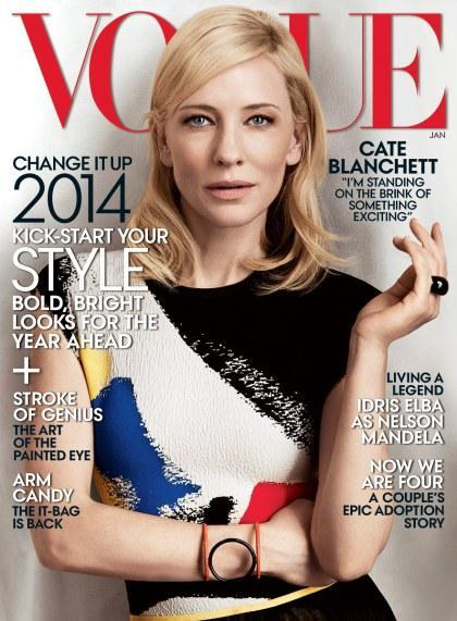 Cate Blanchett by Craig McDean for Vogue US January 2014