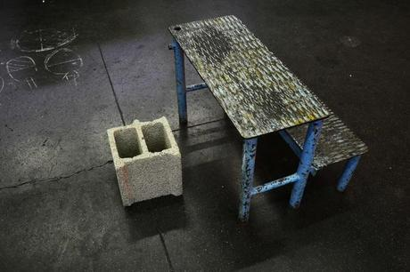 Projet etudiant : Concrete blown glass par Benjamin Fournier