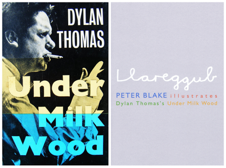 Peter Blake illustrastes Dylan Thomas's Under Milk Wood