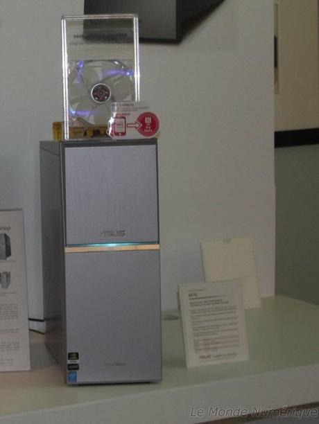 CES 2014 : Ordinateur de bureau Asus M70 NFC avec chargeur à induction et onduleur intégrés