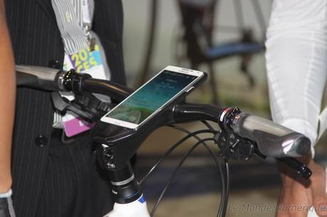 CES 2014 : Samsung expose un vélo connecté en partenariat avec Trek Bikes