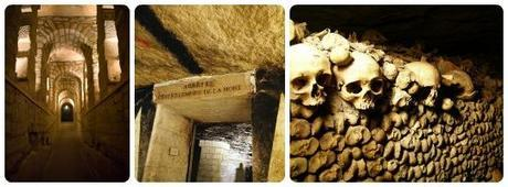 catacombes collage