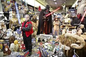 plus grande collection objets starwars