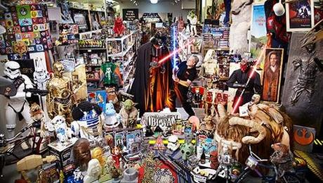 recordman collection objets starwars