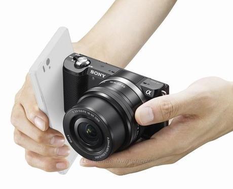 CES 2014 : A5000, un appareil photo à objectif interchangeable extrêment léger