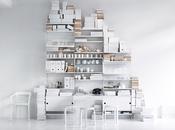 concept d'étagères design ultra modulable