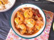 Fricassee crevettes recette Antillaise